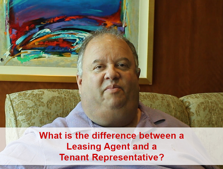 What is the difference between a Leasing Agent and a Tenant Representative?